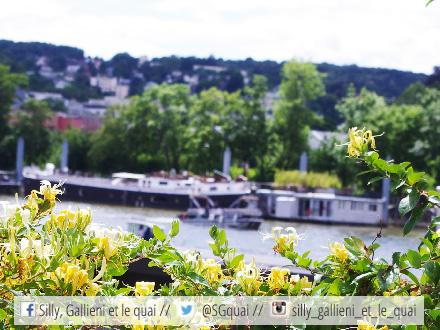 Vue de la Mer à Paris @Silly, Gallieni et le quai