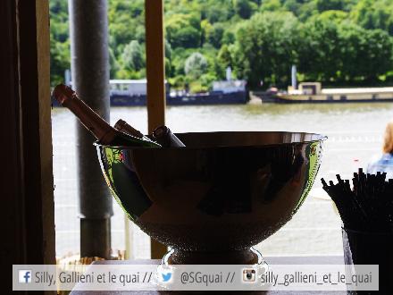 Champagne à La mer à Paris @Silly, Gallieni et le quai
