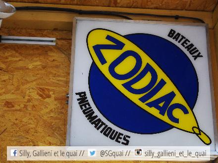Zodiac à La mer à Paris @Silly, Gallieni et le quai