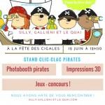 Fête des cigales 2016 : Silly, Gallieni et le quai se met en mode pirates dimanche 12 juin !