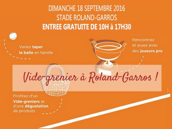 Vide-grenier à Boulogne, à Roland-Garros @Silly, Galleni et le quai