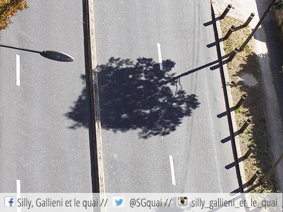 Bords de Seine - version bitume @Silly, Gallieni et le quai