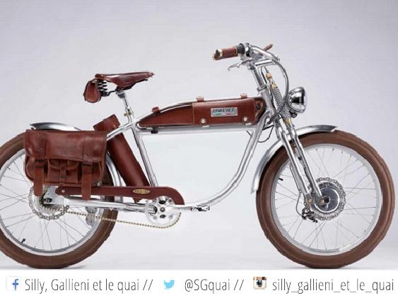 Vélo électrique. Prime d'achat @Silly, Gallieni et le quai
