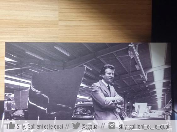 Le fondateur d'Alpine Jean Rédélé @Silly, Gallieni et le quai