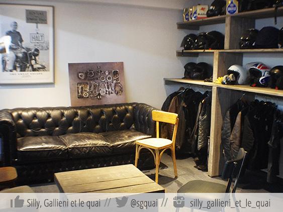 Le vestiaire de La Forge @Silly, Gallieni et le quai