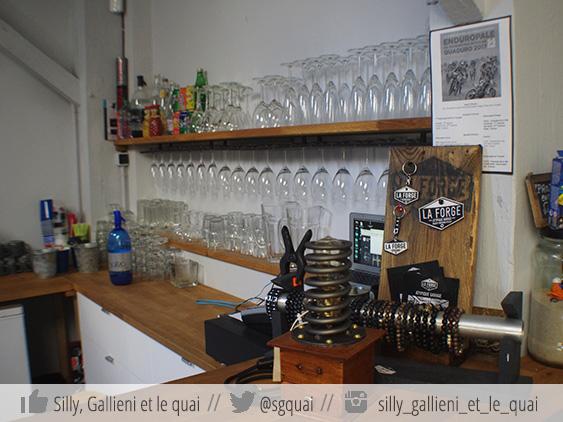 Le café de La Forge @Silly, Gallieni et le quai