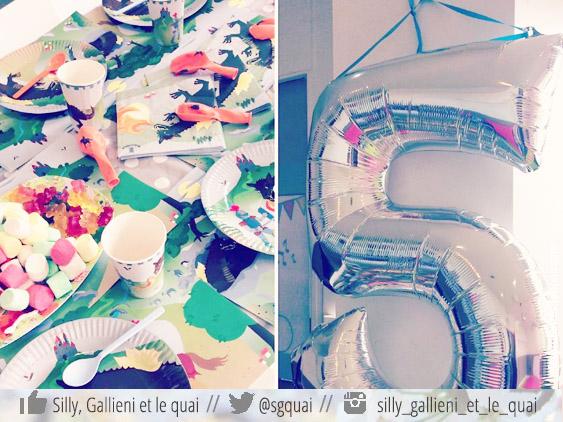 Les goûters d'anniversaire @Silly, Gallieni et le quai