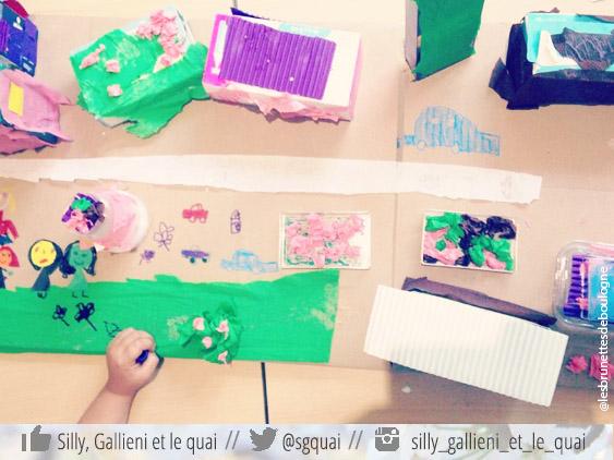 Les ateliers hebdomadaires des Brunettes de Boulogne @Silly, Gallieni et le quai