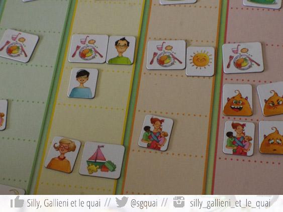 Un calendrier souple et facile à manipuler @Silly, Gallieni et le quai
