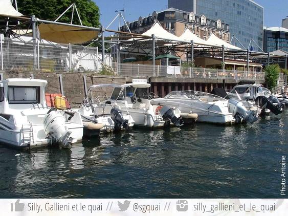 Marina de Boulogne-Billancourt @Silly, Gallieni et le quai