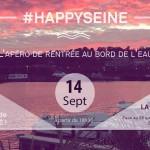 HAPPY SEINE : Le 1er apéro de rentrée sur les berges de Seine
