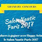 60 pass à gagner avec le Salon Nautic 2017 (JEU-CONCOURS )