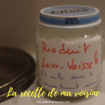 Comment faire soi-même son produit pour lave-vaisselle (La recette TRÈS SIMPLE de ma voisine)