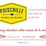 EXCLUSIF. Les paniers de poisson ultra frais accostent à Boulogne-Billancourt ! (JEU-CONCOURS INSIDE)
