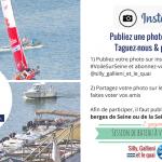 JEU-CONCOURS. 4 sessions de bateau à voile sur la Seine à gagner !