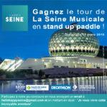 JEU-CONCOURS. Gagnez l'incroyable tour de La Seine Musicale en paddle !