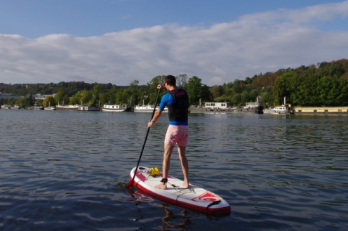 paddle sur seine