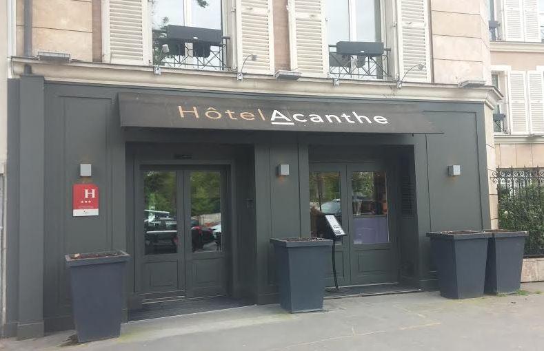 Hôtel Acanthe @silly, gallieni et le quai