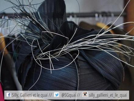 Chapeau noir de Bénédicte Chapeau @Silly, Gallieni et le quai