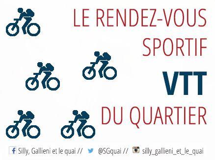 VTT : le rendez-vous sportif de Silly, Gallieni et le quai