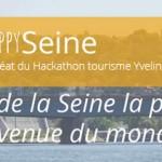 LAURÉAT HACKATHON TOURISME. Vous allez connaître (toute) l'histoire d'Happy Seine