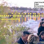 1ère balade sur les berges de Seine HAPPY SEINE X GREETERS